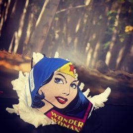 Mascarilla Wonder Woman