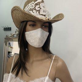 Sombrero blanco ibicenco