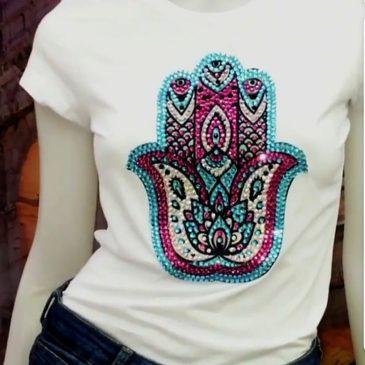 Camiseta Mano de Fatima
