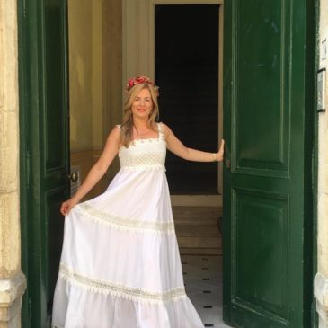 Vestido Ibicenco Blanca