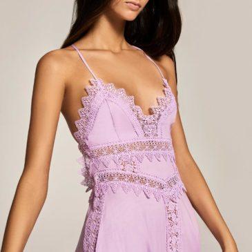 Vestido imagen lila