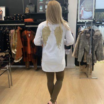 Camisa alas de oro talla única
