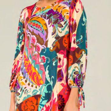 Vestido floral print