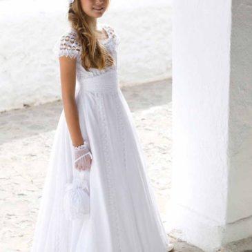 Vestido ibicenco Blancanieves