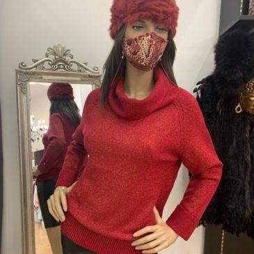Jersey de lana y lurex