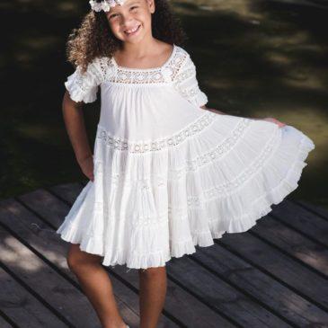 Vestido de niña Lily