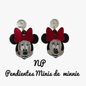 Pendientes minis de Minnie