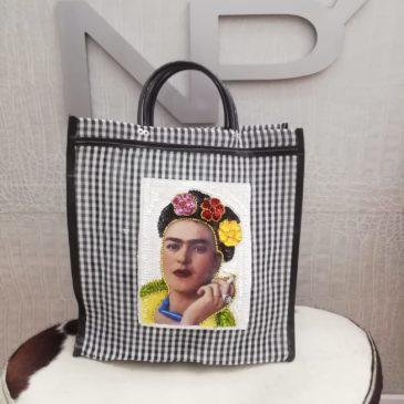 Bolso rafia Frida Kahlo