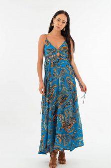 Vestido Atenea azul