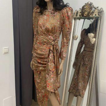 Vestido Margarite Oro
